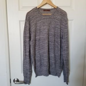 7 For all Mankind Gray Sweater Size XL